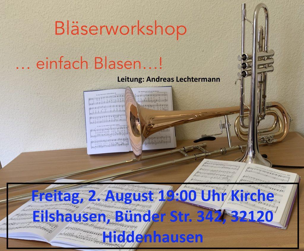 """Workshop: """"… einfach Blasen"""""""